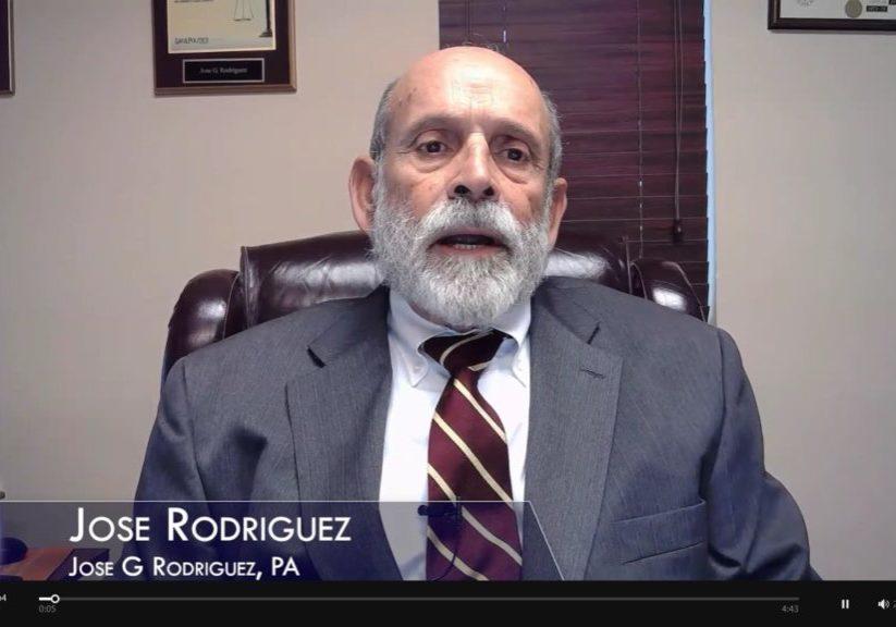 Mediator Jose Rodriguez Video Acceptance of Justice Labarga Award